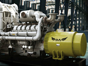 Skid Type generator set